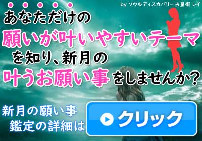 あなただけの「新月のお願い事のテーマ」で叶う新月のお願い事しませんか?